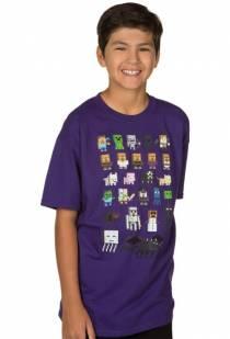 021f1da0e2 Minecraft – Dětské Tričko Sprites