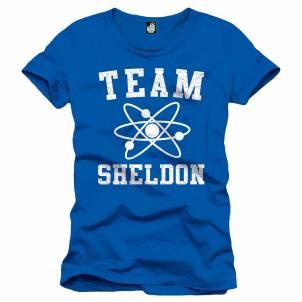The Big Bang Theory – Pánské tričko Team Sheldon S