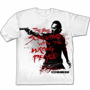 The Walking Dead – Pánské tričko Wrong People