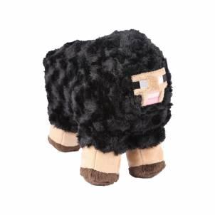 Minecraft – Plyšová černá ovečka 25cm