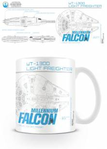 Star Wars – Hrnek Millenium Falcon Sketch 300 ml