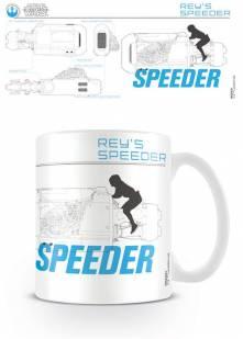 Star Wars – Hrnek Reys Speeder Sketch 300 ml
