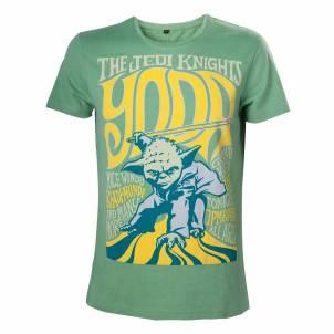 Star Wars – Pánské tričko Yoda the Jedi Knight S