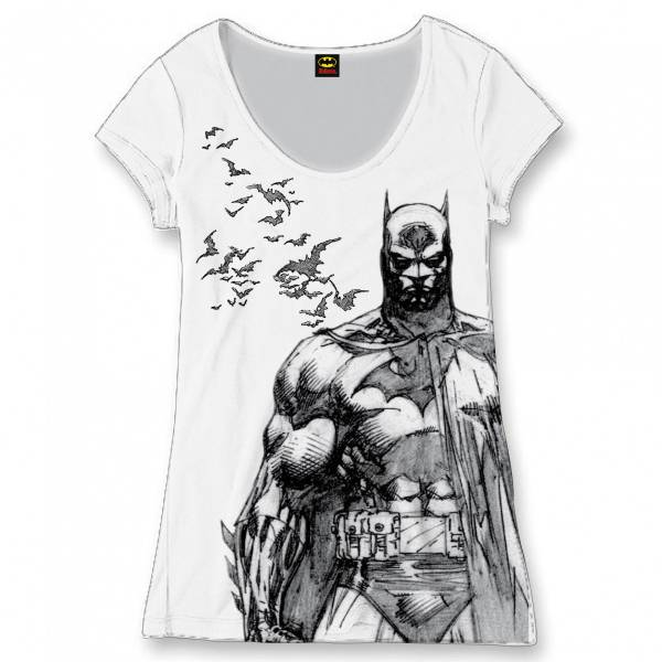 Batman – Dámské tričko Netopýři 07c325de11