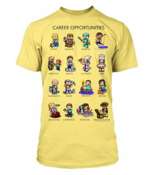 f29b97efc5 Minecraft – Dětské tričko Career Opportunities