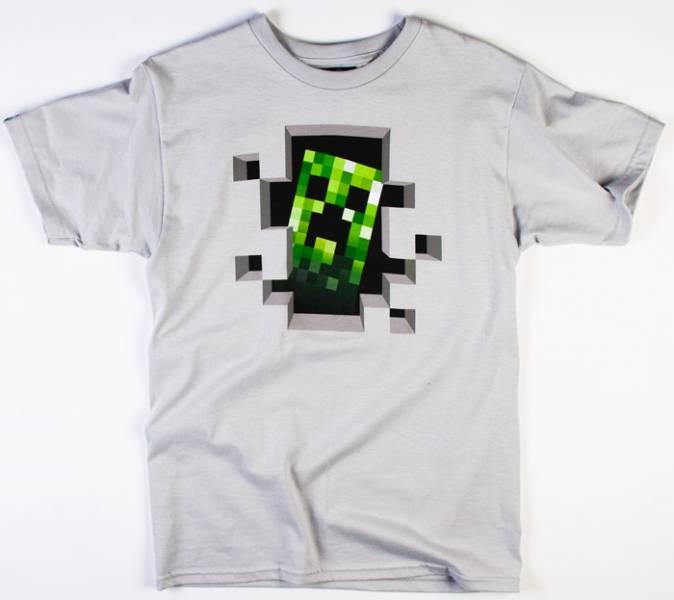 Minecraft – Dětské tričko Creeper Inside  102e0dbdb8