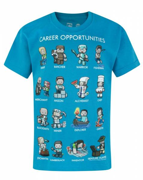 bf83ac37d4 Minecraft – Dětské tričko Career Opportunities 2